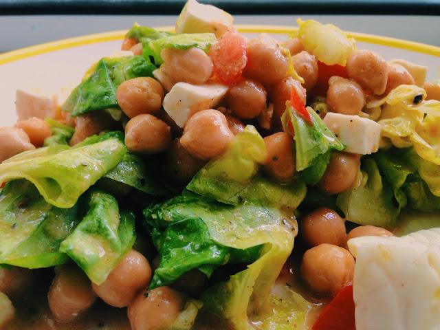 Salata de naut cu telemea