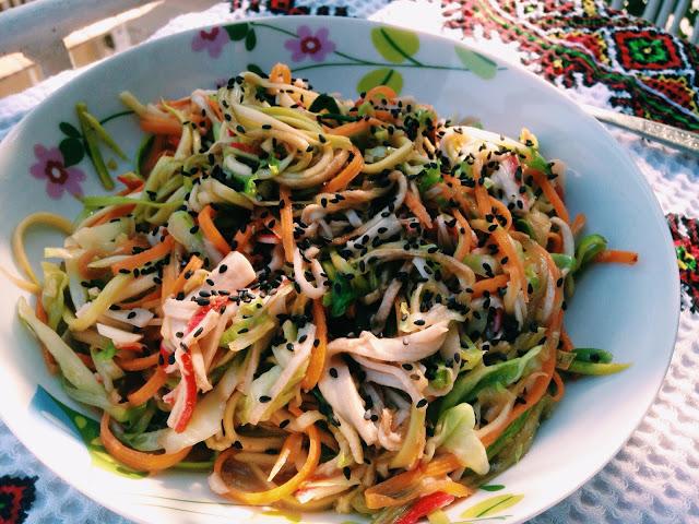 Stir fry cu paste de legume