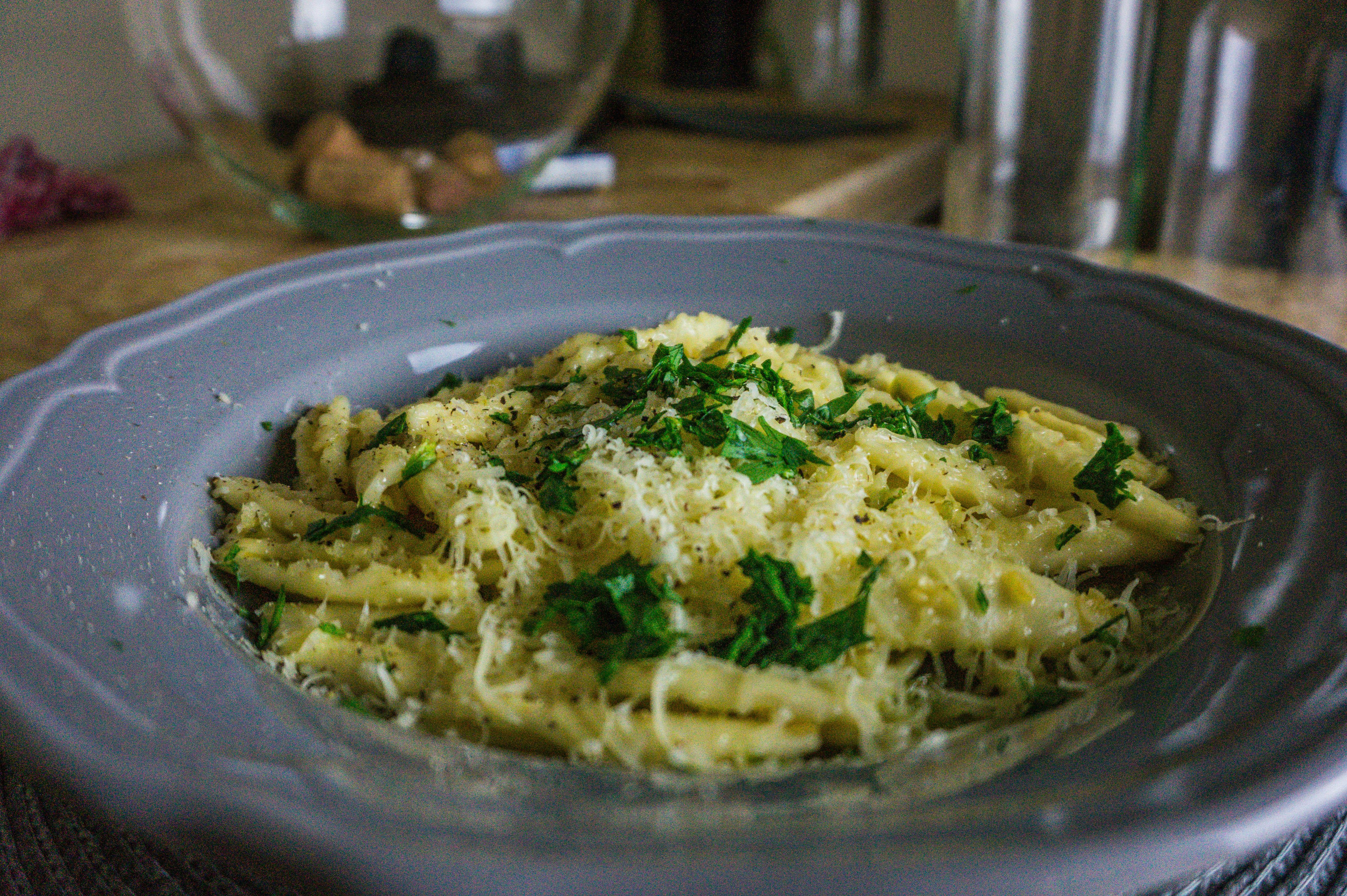 Paste aglio olio